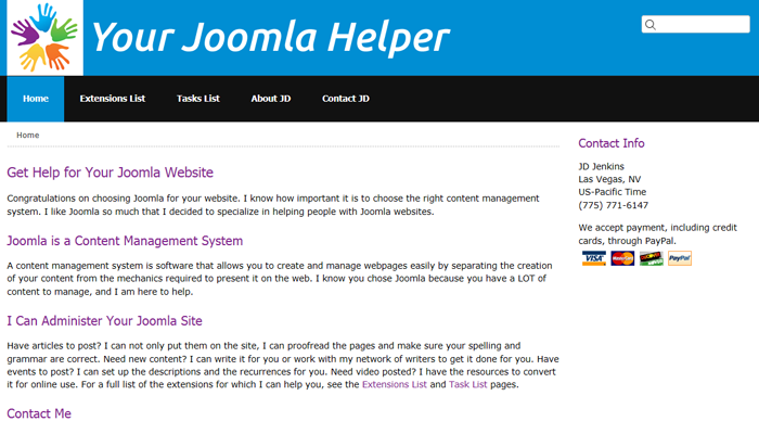 Your Joomla Helper